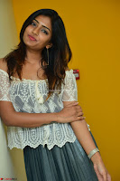 Eesha in a cute deep neck top and Skirt at at Big FM 100.JPG