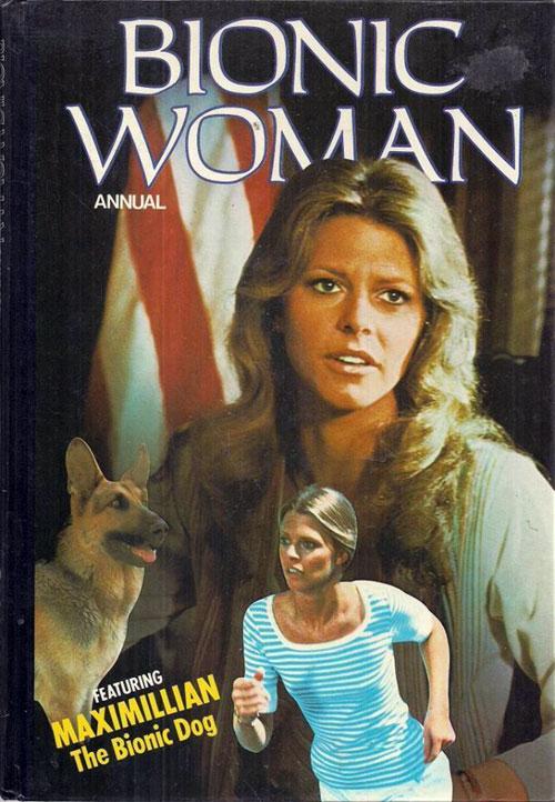 space1970: BIONIC WOMAN U.K. Annuals