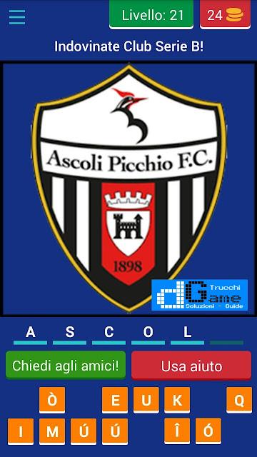Calcio Italiano - Logo Quiz soluzione livello 21 22 23 24 25 26 27 28 29 30 | Parola e foto