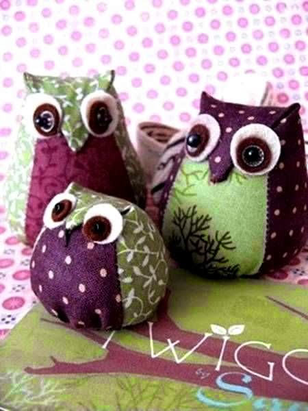 Kerajinan Tangan Dari Barang Bekas, Boneka Owl Perca 6
