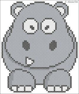 Free cross-stitch patterns, hippo, animal, cartoon, cross-stitch, back stitch, cross-stitch scheme, free pattern, вышивка крестиком, бесплатная схема, punto croce, schemi punto croce gratis, DMC, blocks, symbols