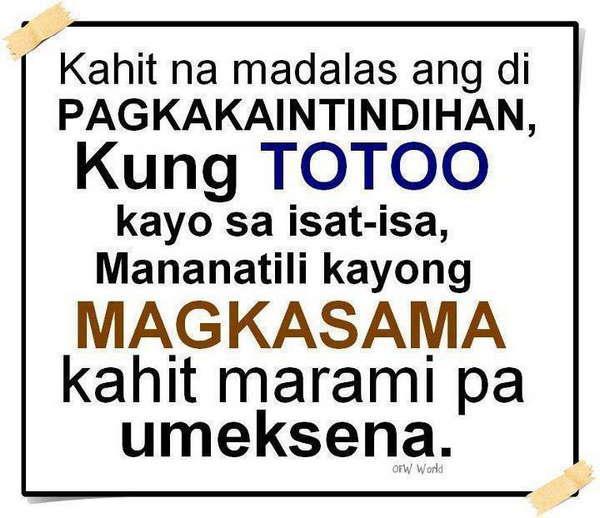 Quotes Sa Pekeng Kaibigan: Pagsubok Quotes About Tagalog