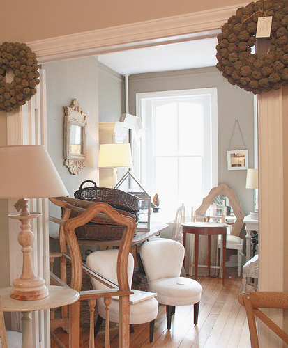 Grey Paint Living Room: Jill Rosenwald : The Old Blog: Living Room Gray Paint