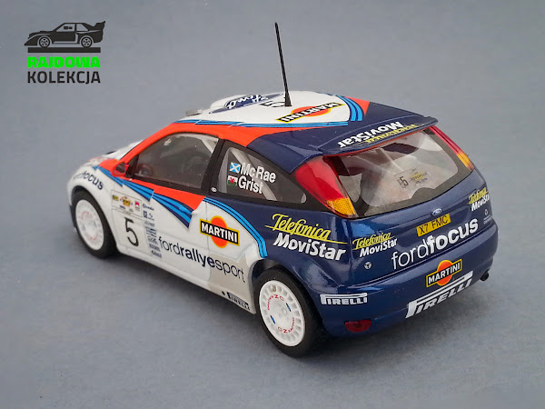 Minichamps Ford Focus RS WRC Winner Rally Acropolis 2002