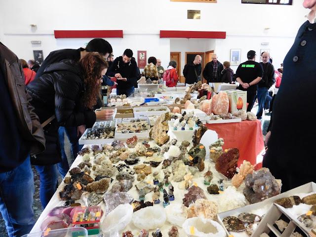 XXII Mesa de Minerales Monteluz. 10 de diciembre de 2016. El Padul P1040006