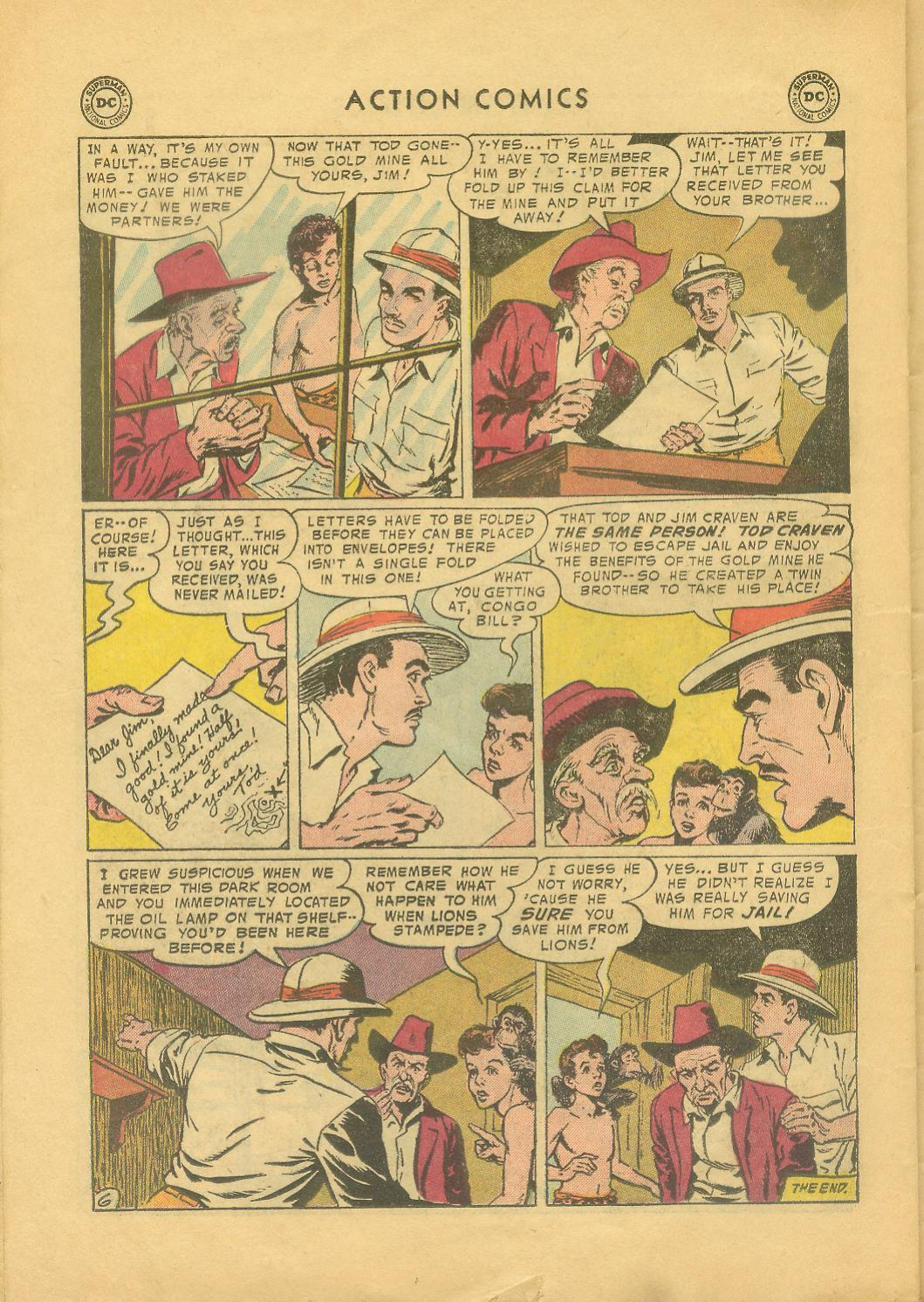 Read online Action Comics (1938) comic -  Issue #216 - 23