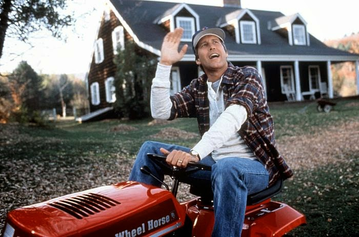Chevy Chase Funny Farm comedy movie 1988