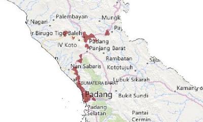 Jangkauan Smartfren 4G LTE Wilayah Sumatera Barat