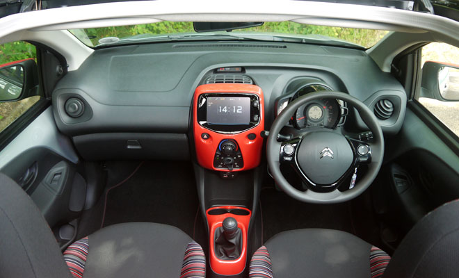 Citroen C1 Airscape interior