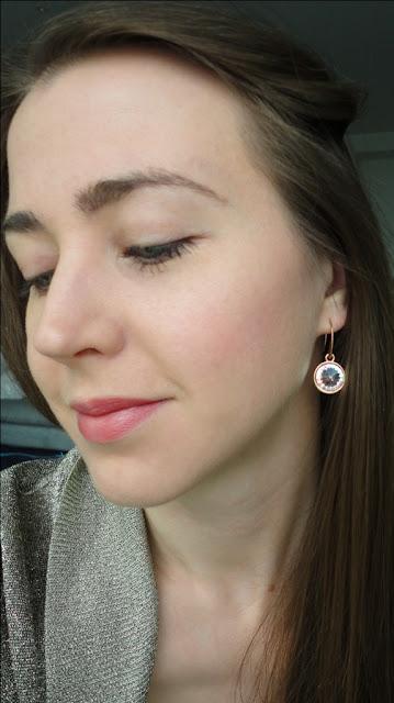 DIY rivoli crystal statement earrings