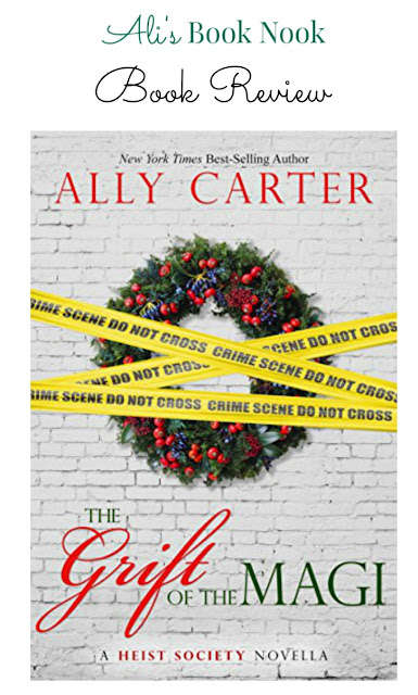 Holiday book review Grift of the Magi by Ally Carter