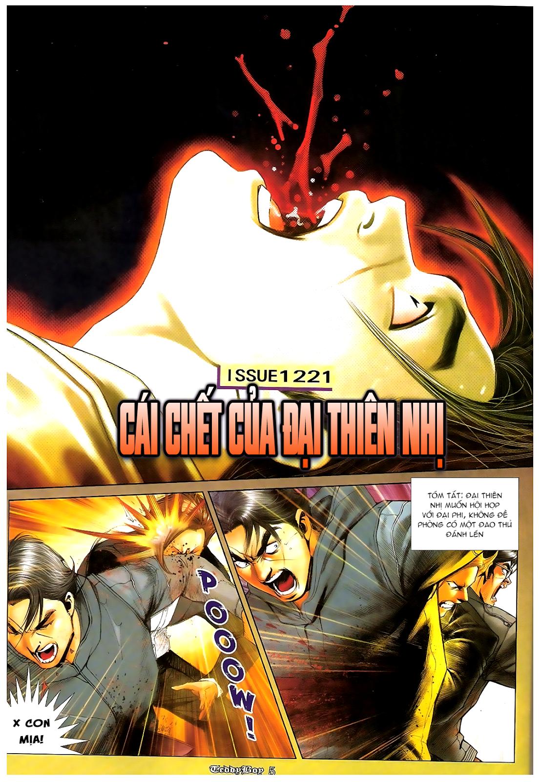 Người Trong Giang Hồ - Chapter 1221: Cái chết Đại Thiên Nhị - Pic 2