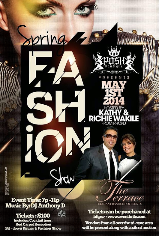 Posh Fashion Show hosted by Richie and Kathy Wakile