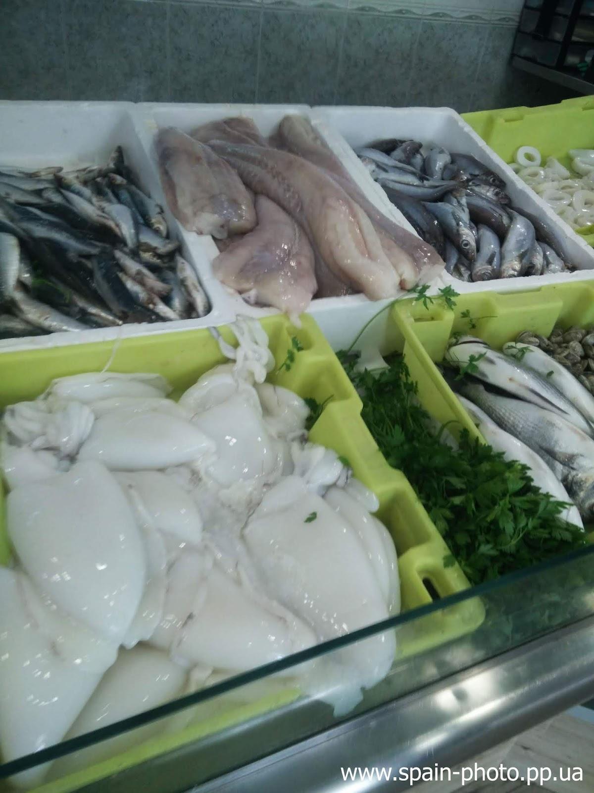 испанский рыбный рынок