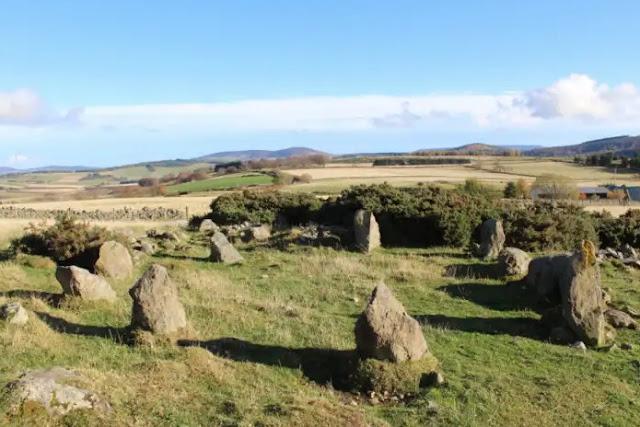 Newly identified recumbent stone circle recorded on Aberdeenshire farm