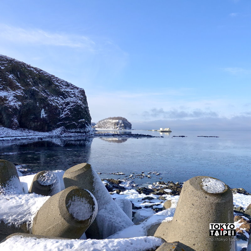 【Oronko岩】知床八景之一 60公尺高超大岩石與絕美海景