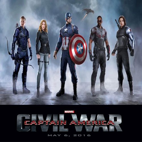 Infoku 89 Captain America Civil War 2016