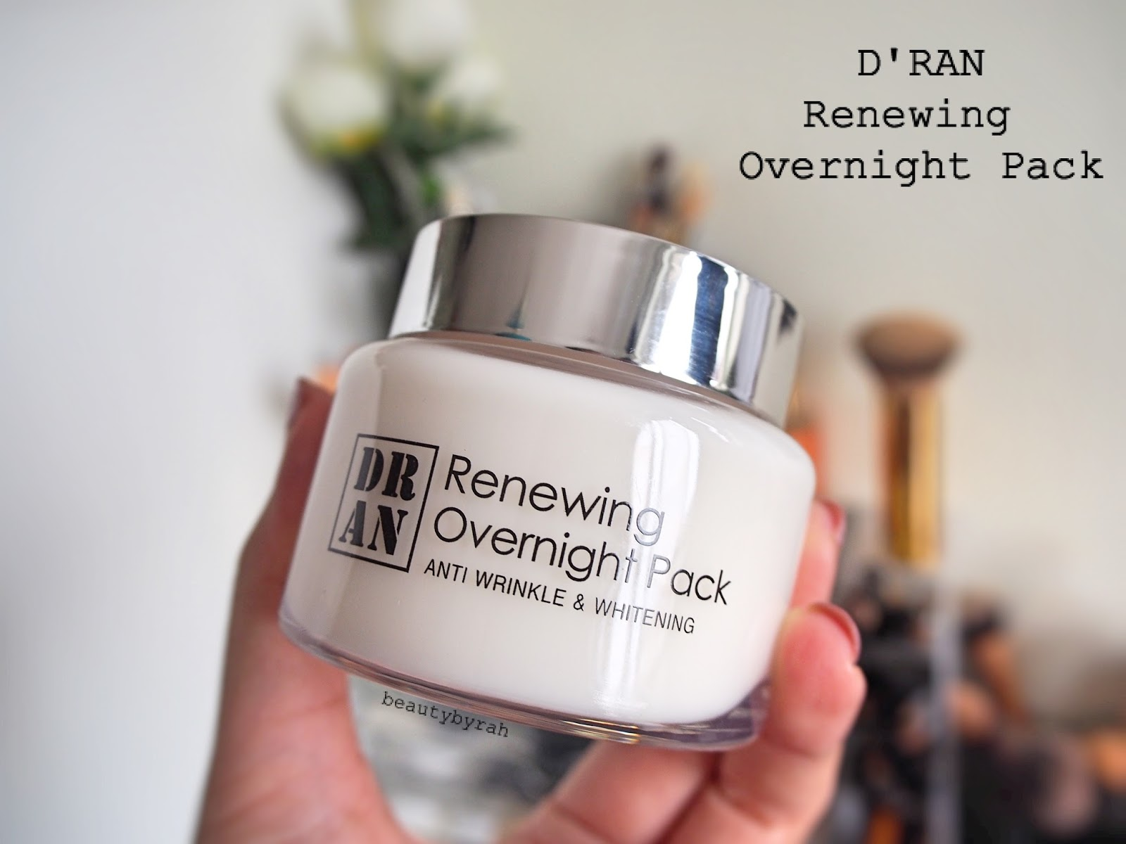 D'Ran renewing Overnight Sleeping Pack review