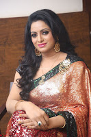 Udaya Bhanu lookssizzling in a Saree Choli at Gautam Nanda music launchi ~ Exclusive Celebrities Galleries 019.JPG