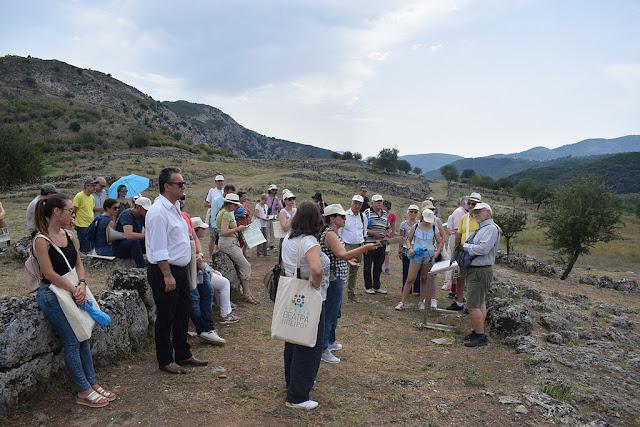 Μέλη του Συνδέσμου Ελλήνων εργαζομένων στις Βρυξέλες επισκέφθηκαν τα Γίτανα