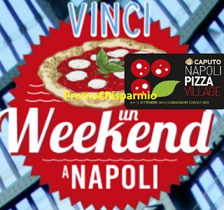 Logo Vinci 5 weekend a Napoli per un evento speciale
