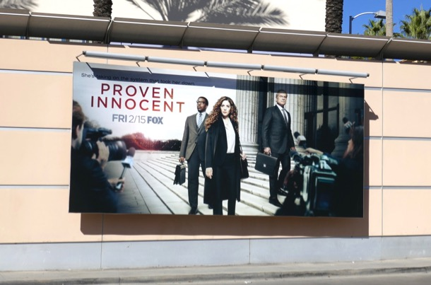Proven Innocent Fox series billboard