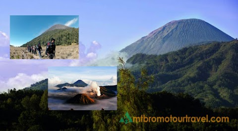 Trekking Package Mount Semeru and Mt Bromo