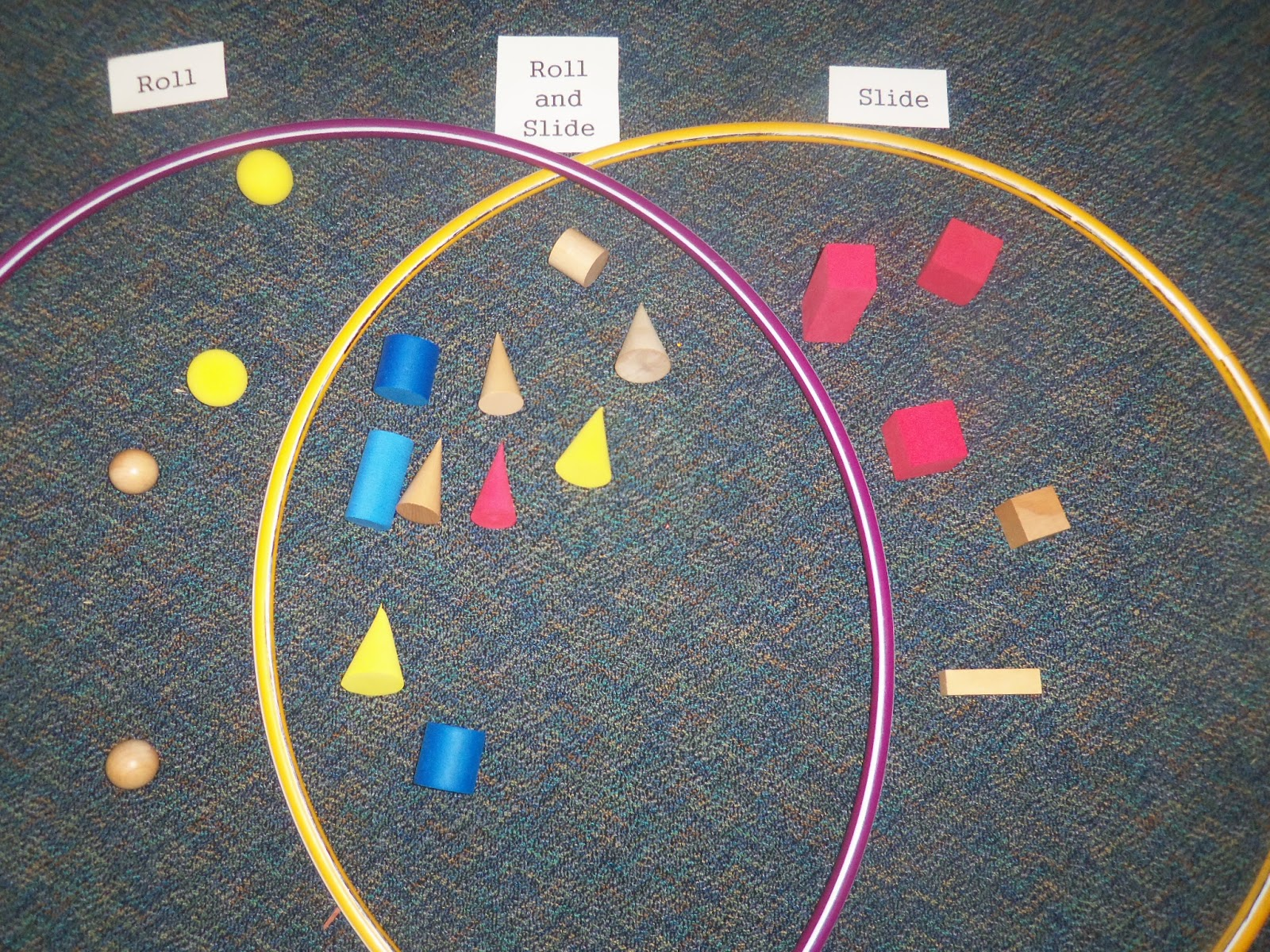 Kinder Garden: Mrs. Wood's Kindergarten Class: 3-D Shapes