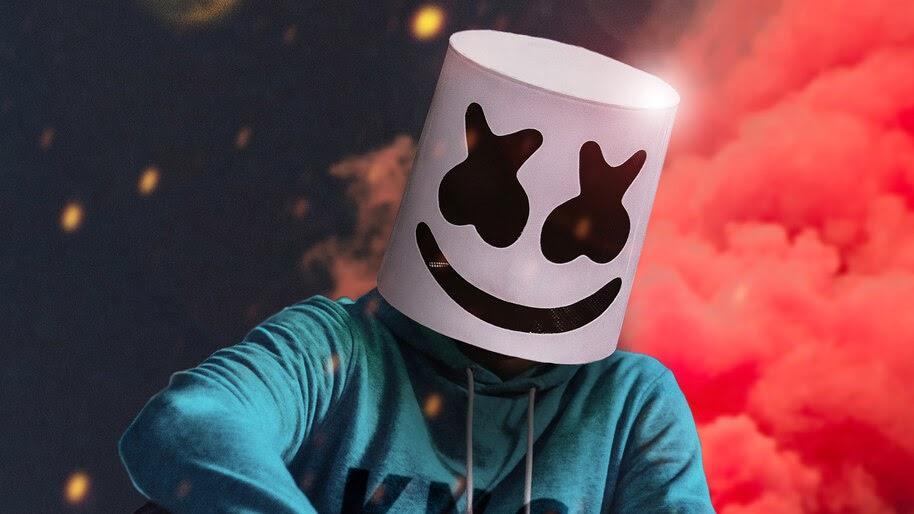 DJ, Marshmello, Mask, 4K, #4.3133