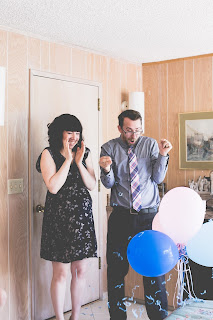 Sonder Lane Photography baby gender reveal