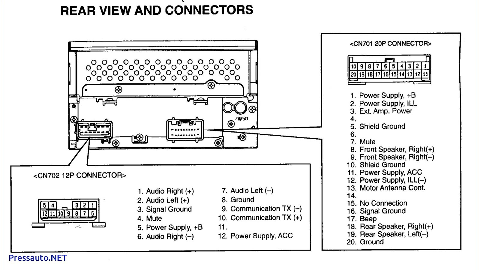 car radio wiring diagrams free