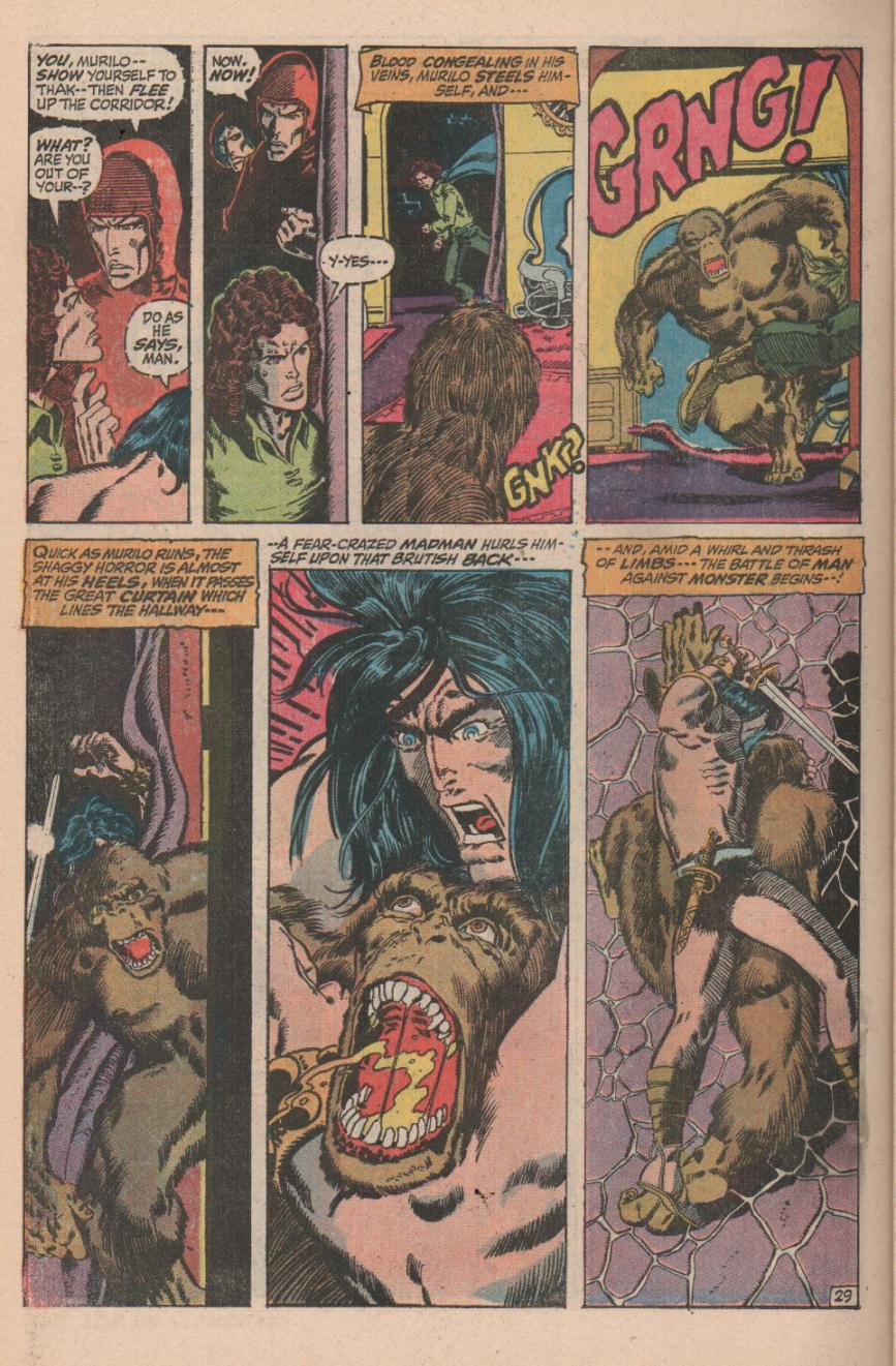 Conan the Barbarian (1970) Issue #11 #23 - English 40