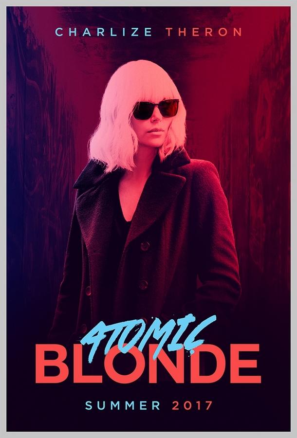 Resultado de imagem para atomic blonde poster