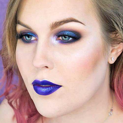 tendencias maquillaje otoño 2016 azules pantone