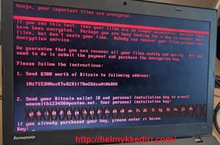 Mengenal ransomware petya yang lebih ganas
