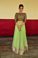 Actress Regina Candra Latest Pos in Green Long Skirt at Nakshatram Movie Teaser Launch  0098.JPG