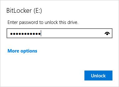 Đặt mật khẩu ổ cứng bằng BitLocker - H10