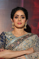 Sri Devi in designer saree stunning beauty at the launch of MOM movie Trailer~  Exclusive 085.JPG
