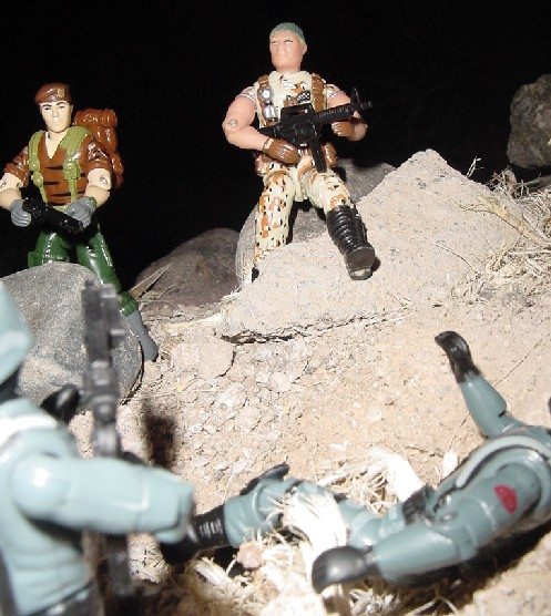 1994 Chinese Flint, Tiger Force Falcon, Unproduced Caucasian Desert Strike Stalker, Midnight Chinese, Prototype, TRU Exclusive, 2005 Night Watch Officer, Trooper