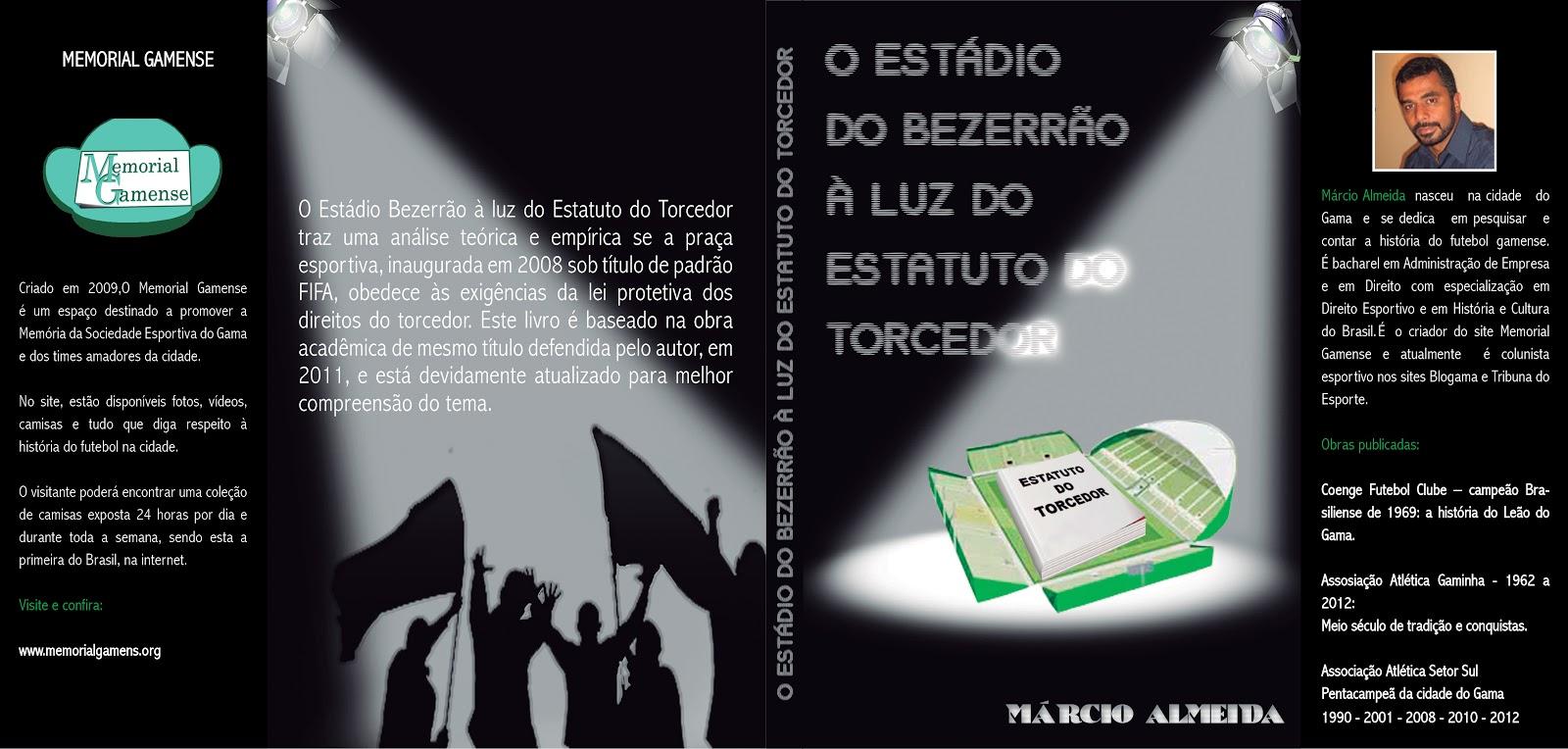 Capa O Estádio do Bezerrão À Luz do Estatuto do Torcedor - GF ... ecc9ceaa3c8