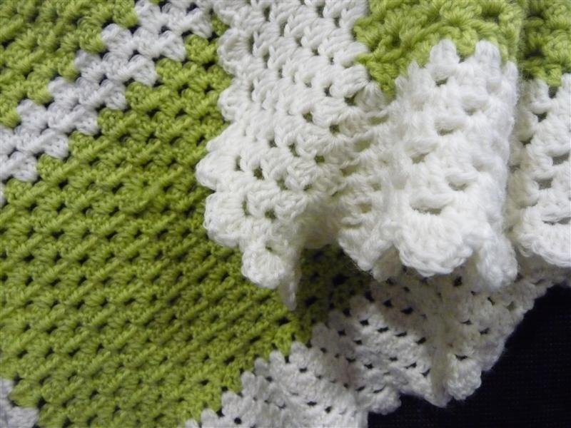 Crochet Blanket Edging Pattern Crochet Patterns
