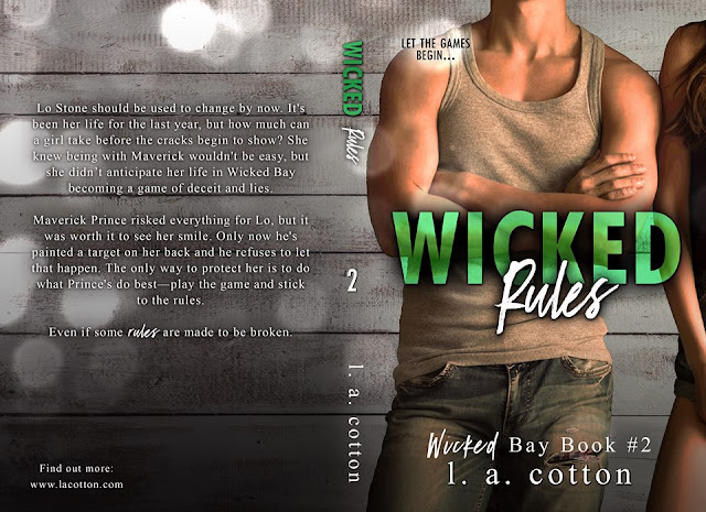 [Cover Reveal] WICKED RULES by LA Cotton @authorlacotton #Giveaway