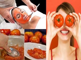 وصفة الطماطم والزّبادي لتبيض الوجه