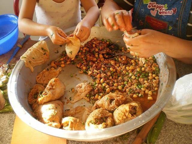 Street Food Cuisine Du Monde Recette D Osbane Panse D Agneau