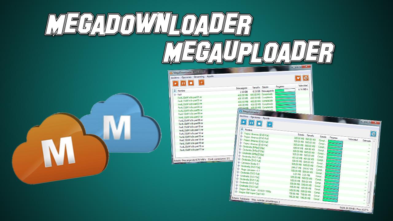 Descargar Megadownloader V1 7 Portable Multilenguaje – Fondos de