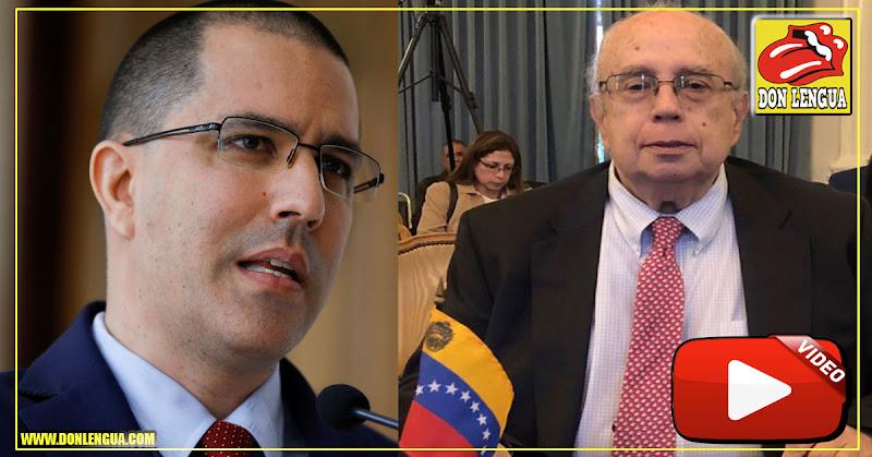 Así se ve Gustavo Tarre en su nueva silla de la OEA - Jorge Arreaza se quedó sin trabajo