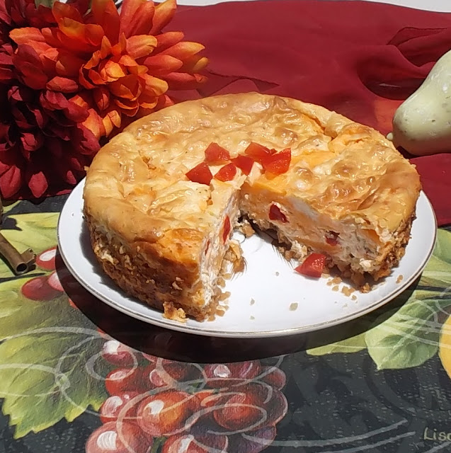 cheddar cheesecake recipe photo by candy dorsey
