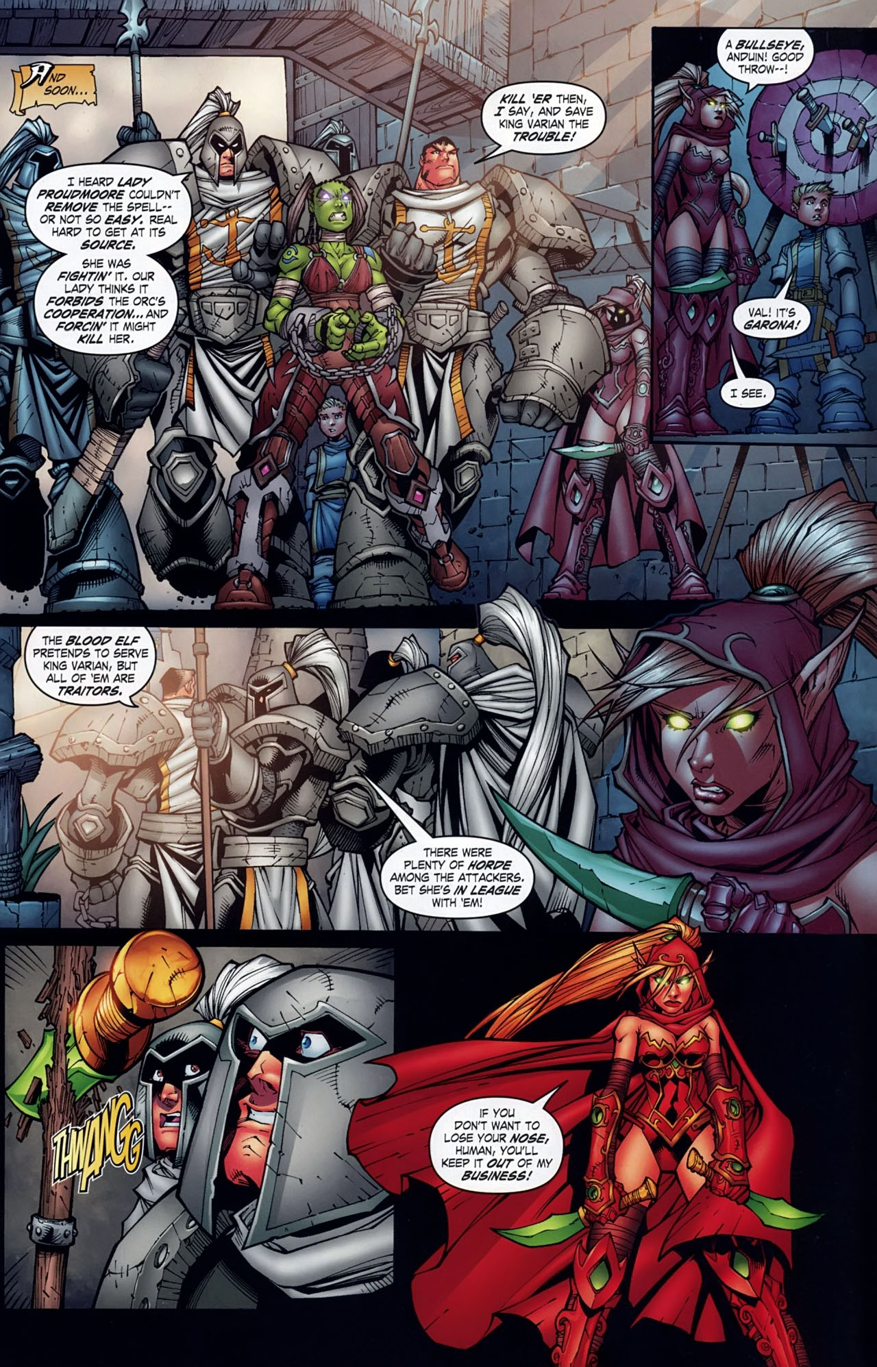 Read online World of Warcraft comic -  Issue #18 - 18