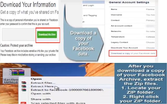 Cum pot recupera și încărca Videoclipul aniversar nedistribuit pe Facebook?