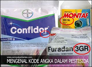 Mengenal kode angka dan kode jenis dari Pestisida (5WP, 400SL, 2,5EC dan 400WSC)